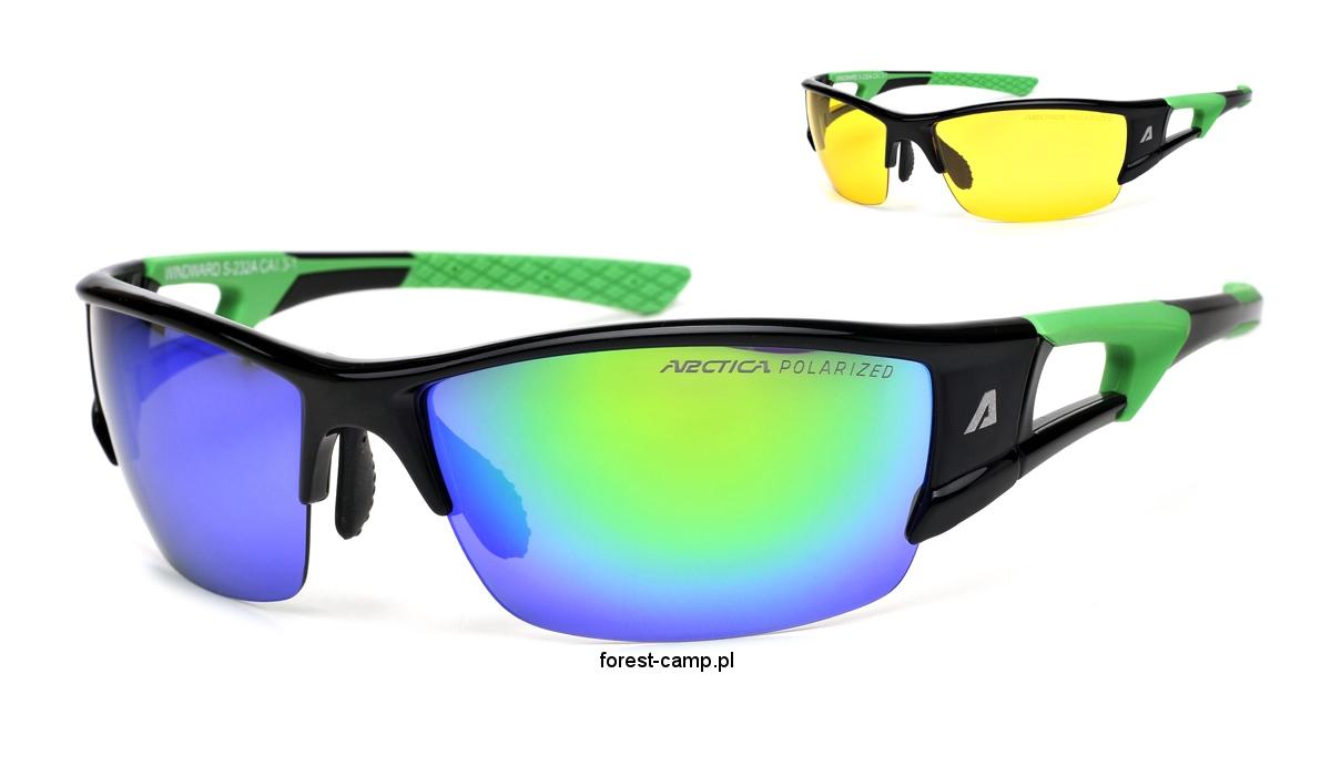 Okulary przeciwsłoneczne polaryzacyjne Arctica Sport S 232A