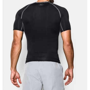 UnderArmour_HeatGearCompression_Shirt_czarny__sklep_forest-camp_tył